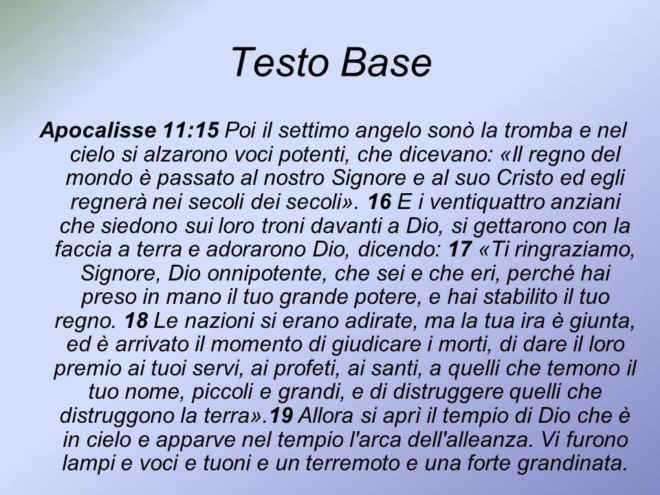Testo Base