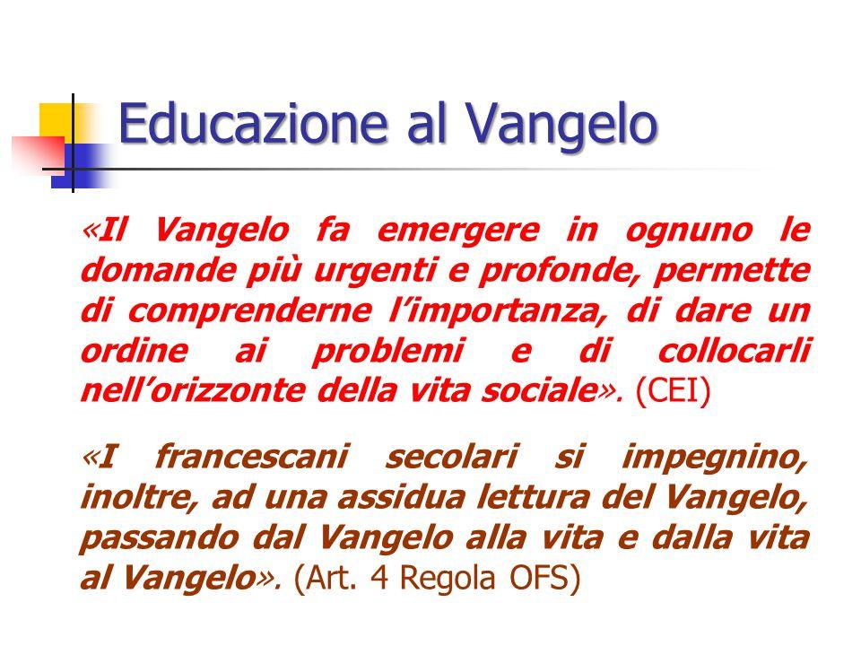 Educazione al Vangelo