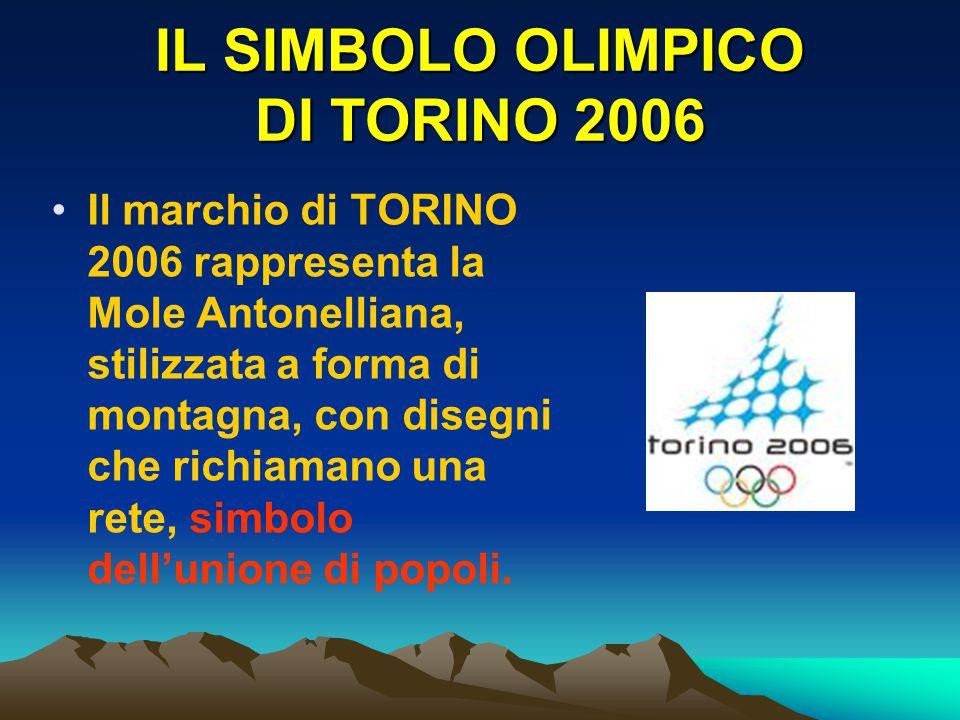 IL SIMBOLO OLIMPICO DI TORINO 2006
