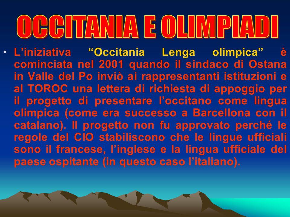 OCCITANIA E OLIMPIADI