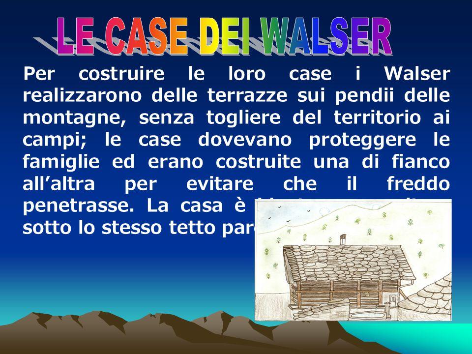 LE CASE DEI WALSER