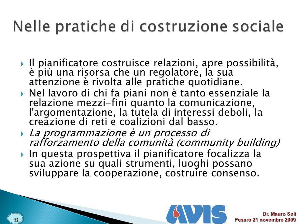 Nelle pratiche di costruzione sociale