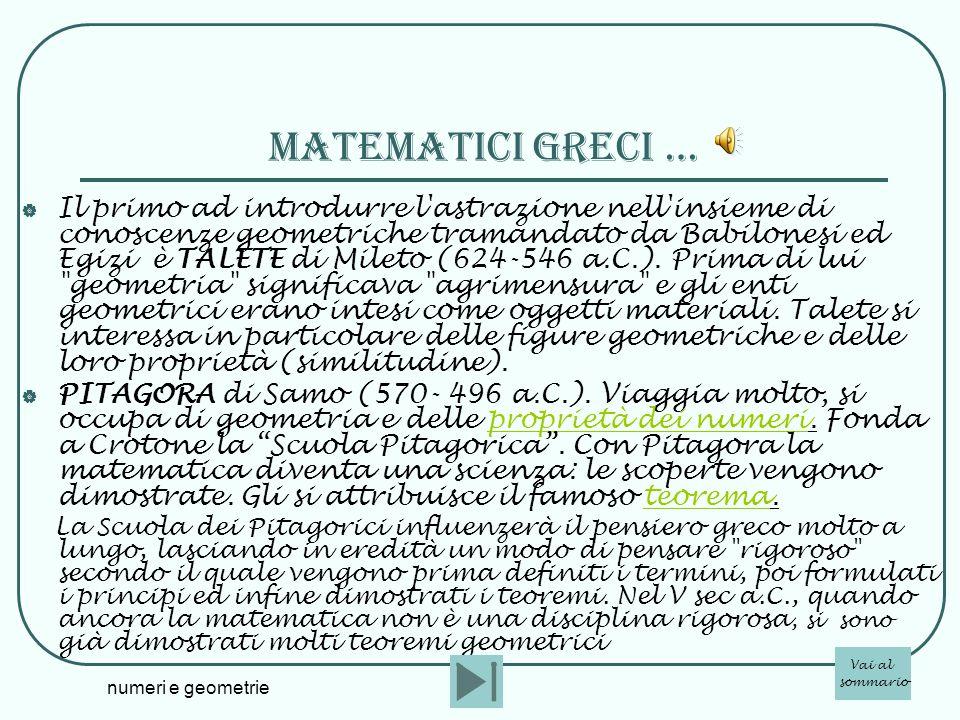 matematicI greci …
