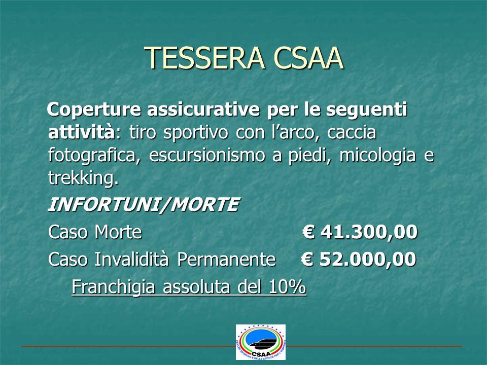 TESSERA CSAA