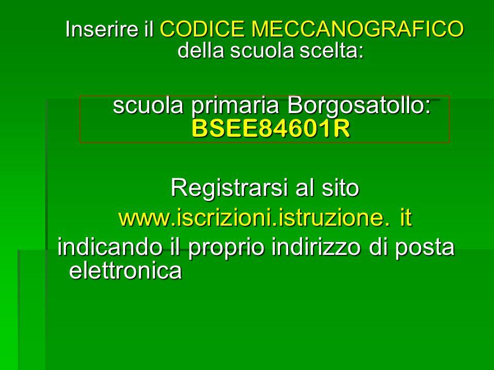 scuola primaria Borgosatollo: BSEE84601R