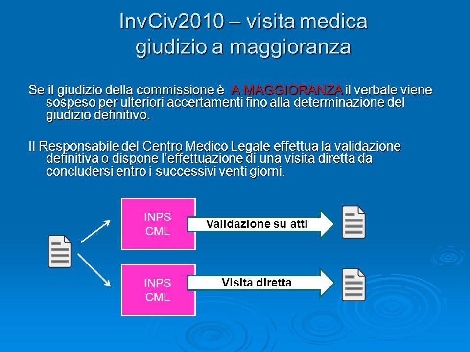 InvCiv2010 – visita medica giudizio a maggioranza