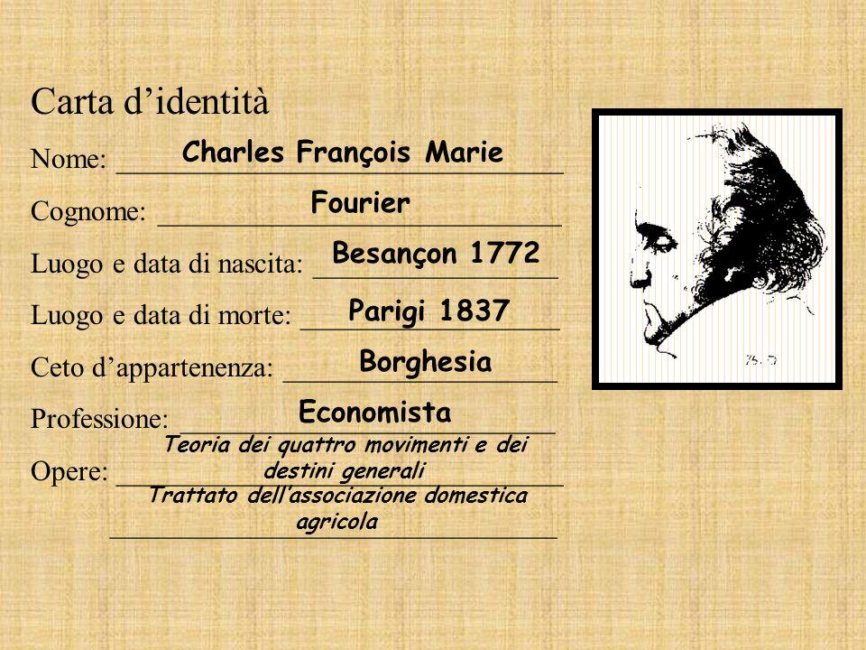 Carta d'identità Nome: _______________________________