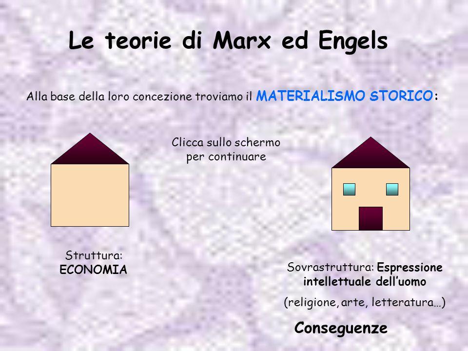 Le teorie di Marx ed Engels