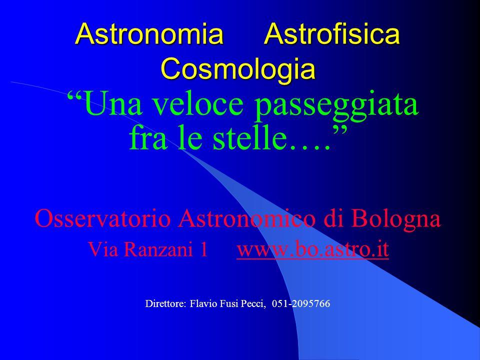 Astronomia Astrofisica Cosmologia