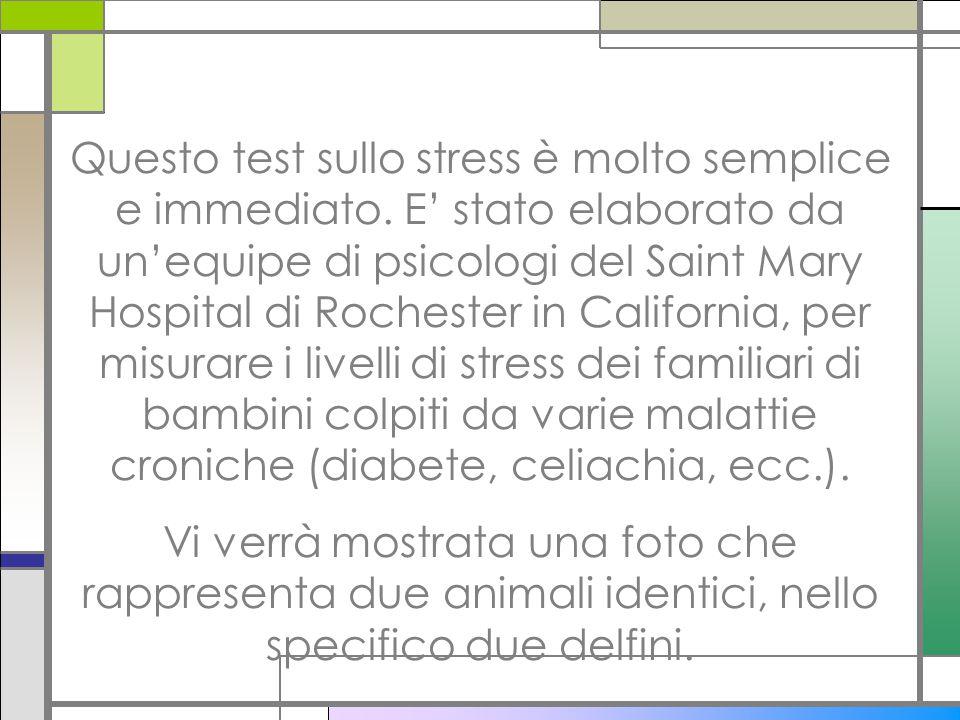 Questo test sullo stress è molto semplice e immediato