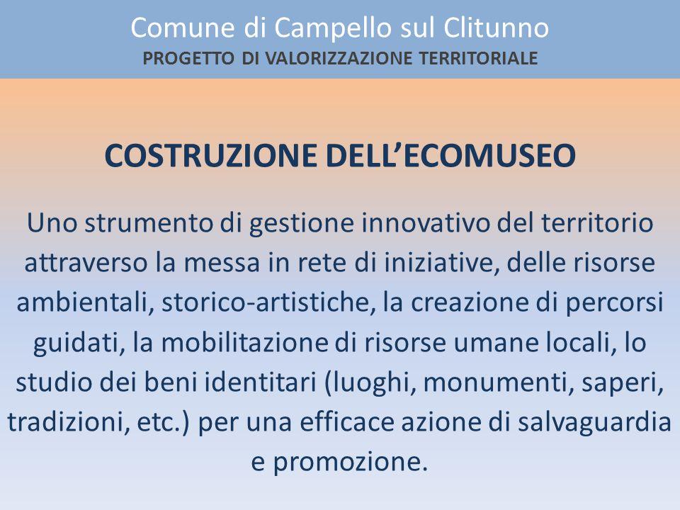 COSTRUZIONE DELL'ECOMUSEO