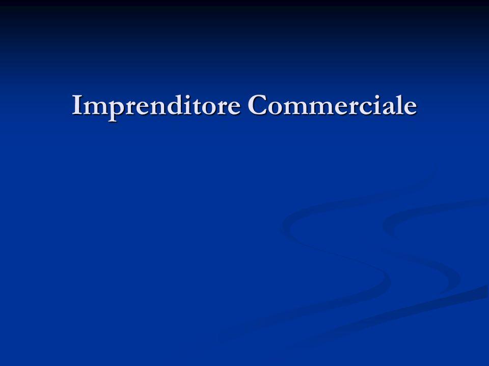 Imprenditore Commerciale