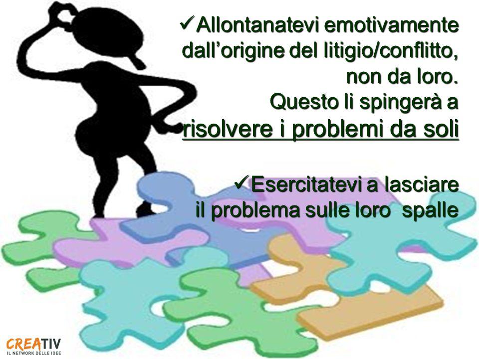 risolvere i problemi da soli