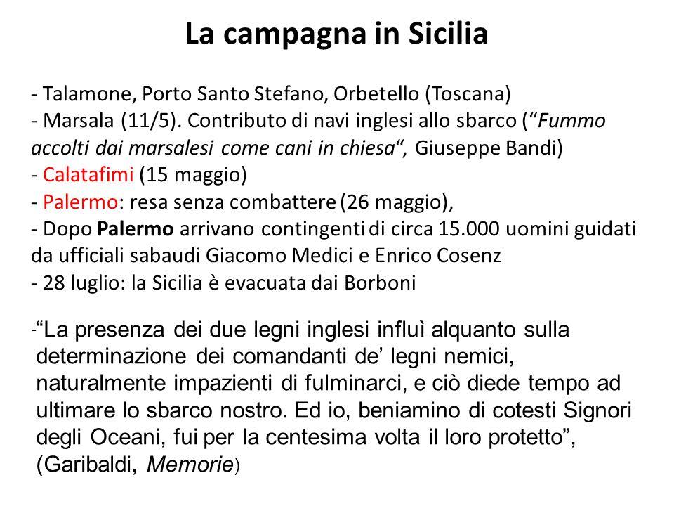 La campagna in Sicilia - Talamone, Porto Santo Stefano, Orbetello (Toscana)