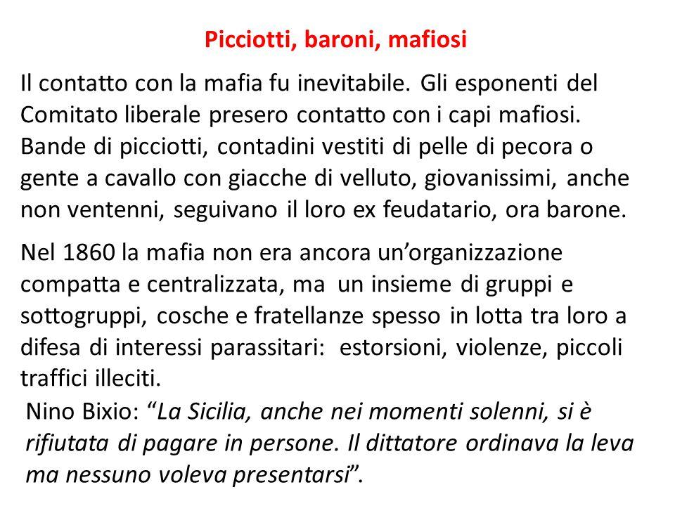 Picciotti, baroni, mafiosi