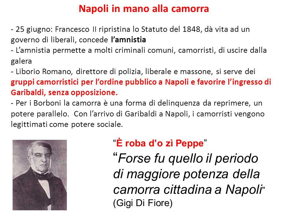 Napoli in mano alla camorra
