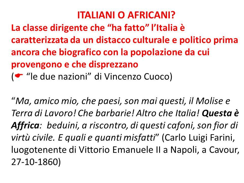 ITALIANI O AFRICANI