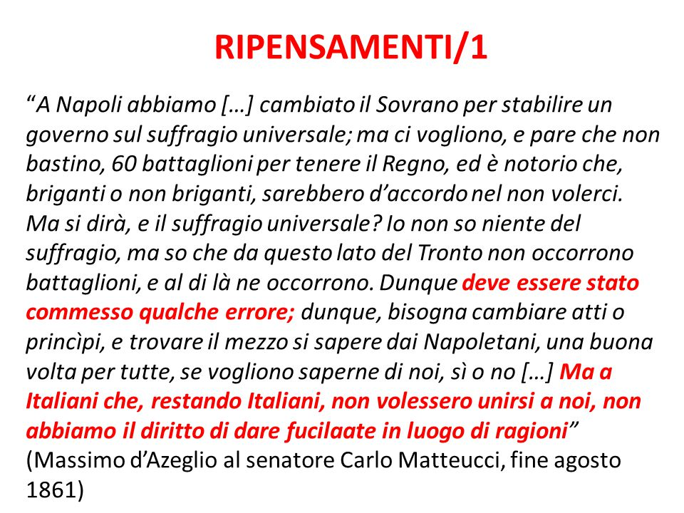 RIPENSAMENTI/1