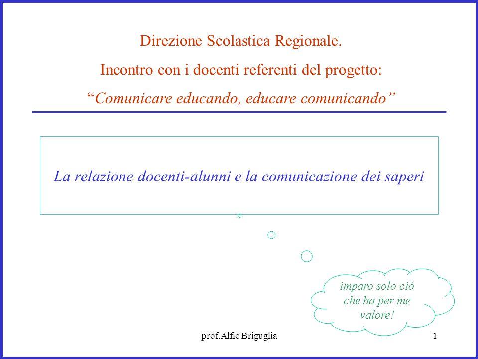 La relazione docenti-alunni e la comunicazione dei saperi