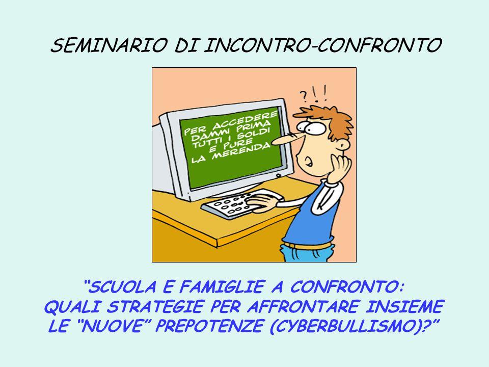 SEMINARIO DI INCONTRO-CONFRONTO