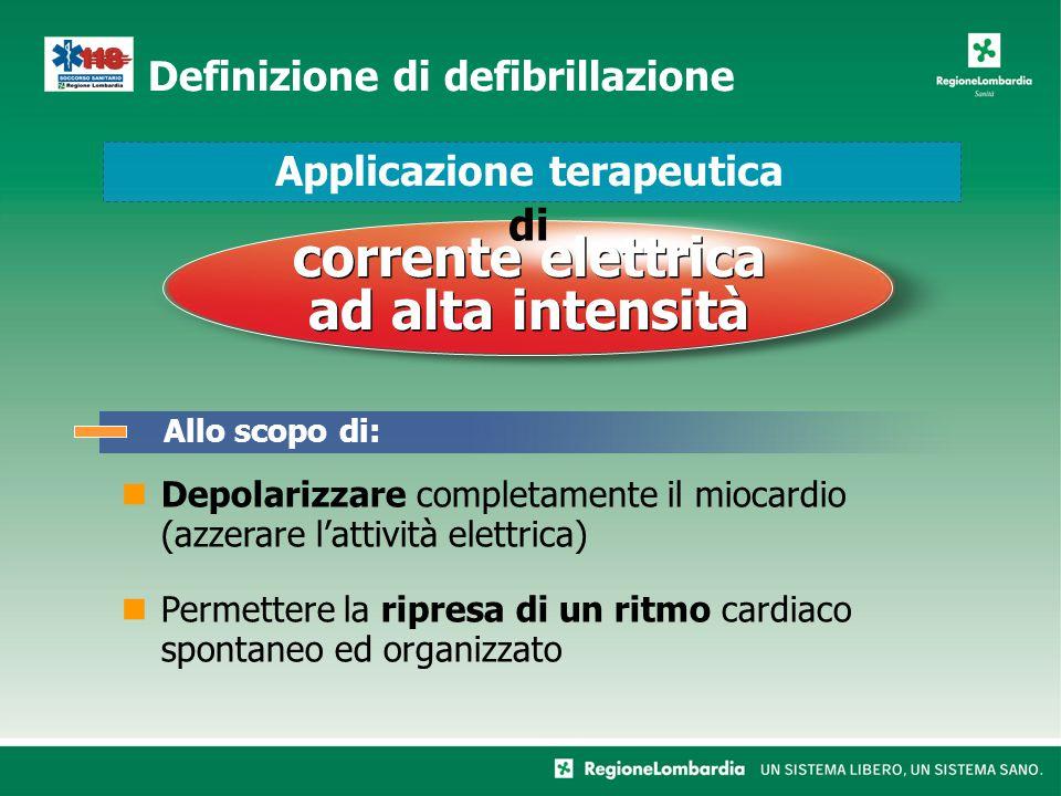 Definizione di defibrillazione