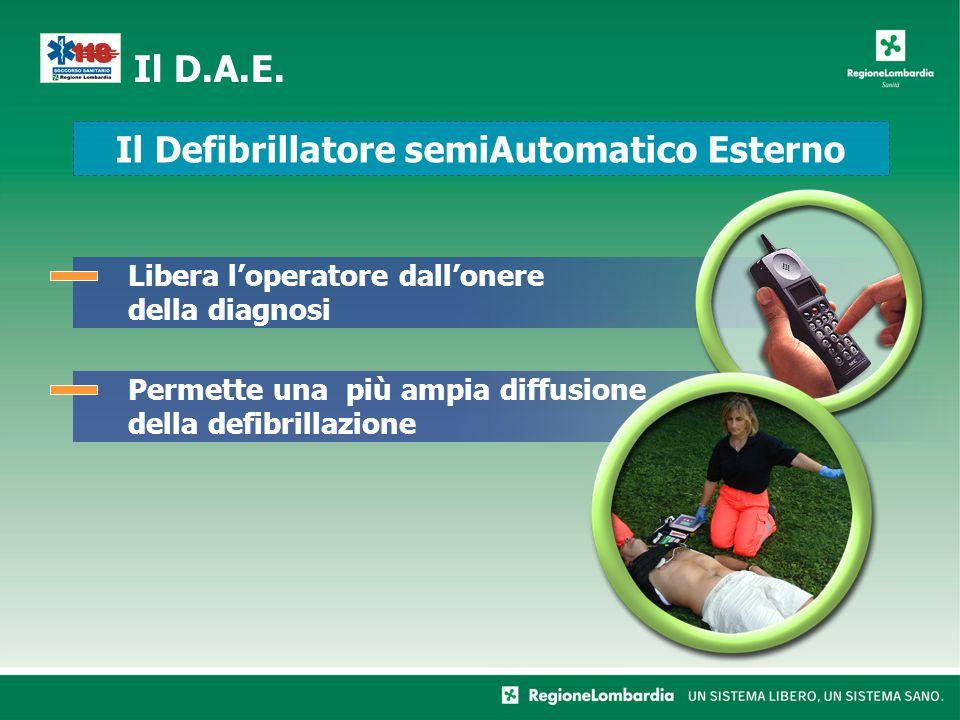 Il Defibrillatore semiAutomatico Esterno