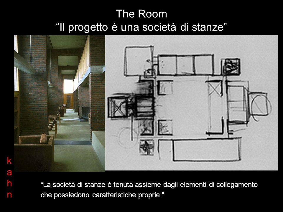 The Room Il progetto è una società di stanze