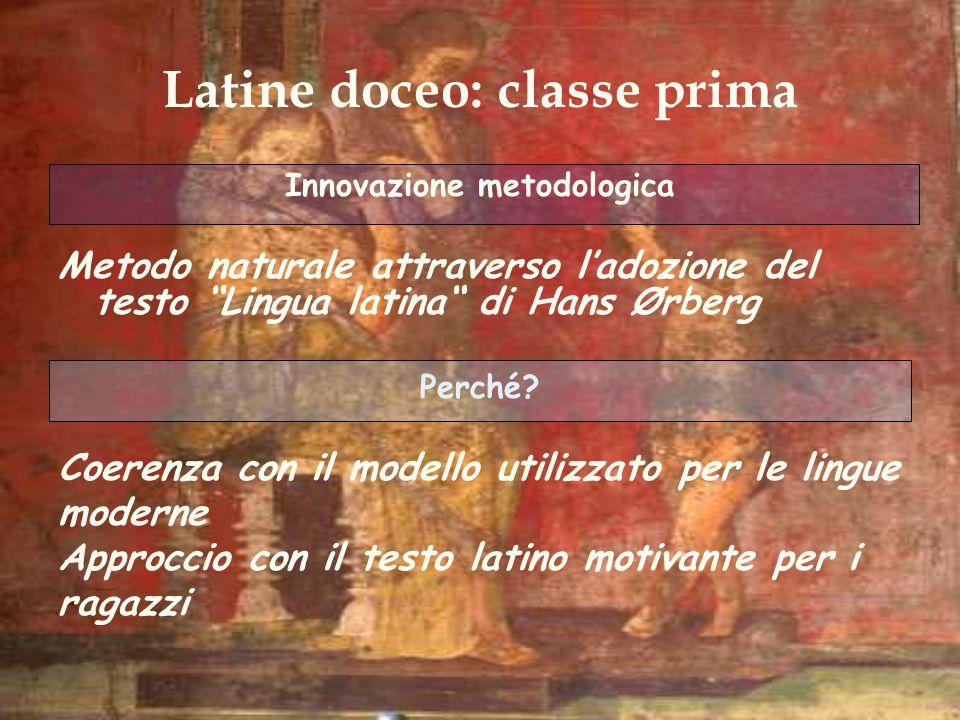 Latine doceo: classe prima