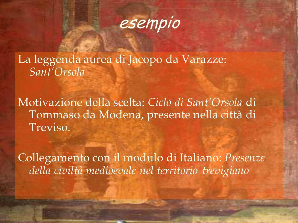 esempio La leggenda aurea di Jacopo da Varazze: Sant'Orsola