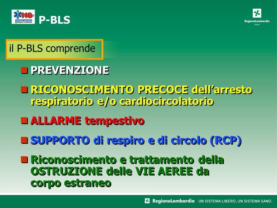 SUPPORTO di respiro e di circolo (RCP)