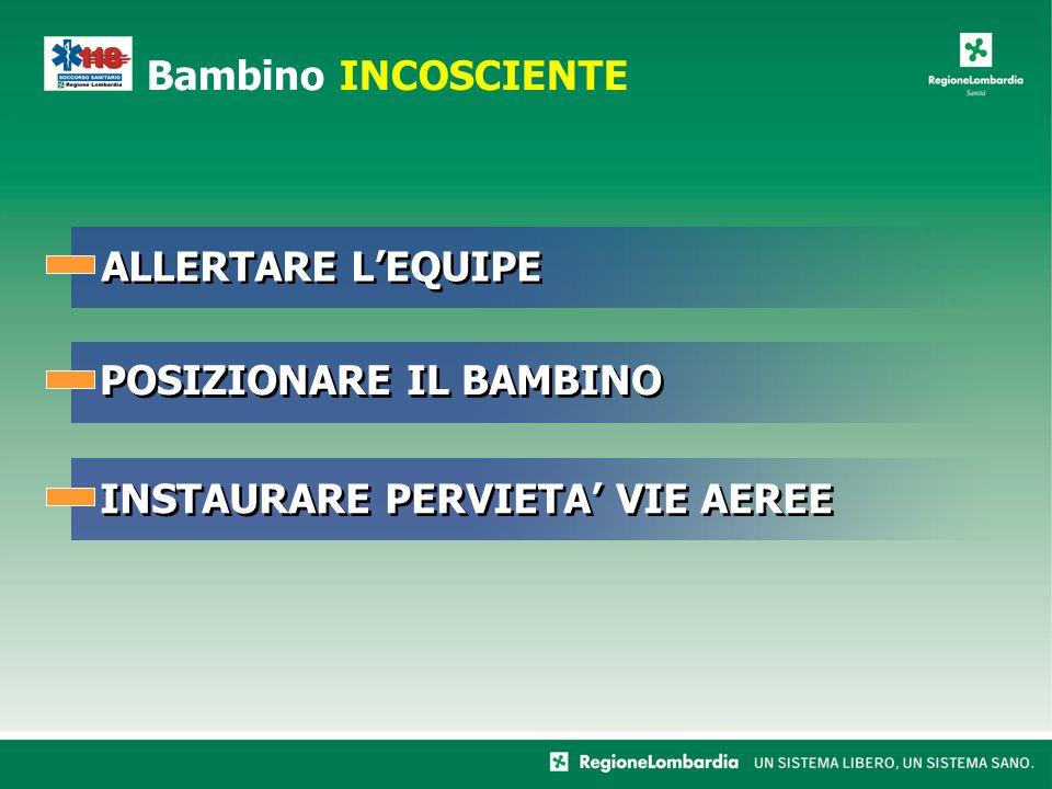 POSIZIONARE IL BAMBINO