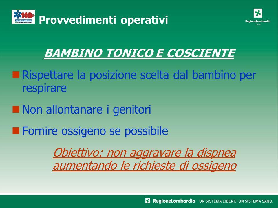 BAMBINO TONICO E COSCIENTE