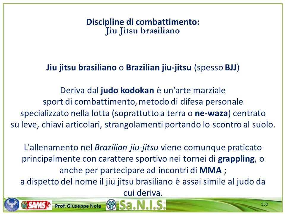 Jiu jitsu brasiliano o Brazilian jiu-jitsu (spesso BJJ)