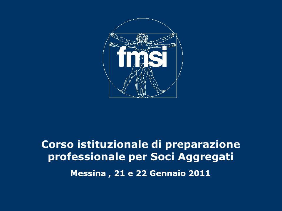 Corso istituzionale di preparazione professionale per Soci Aggregati