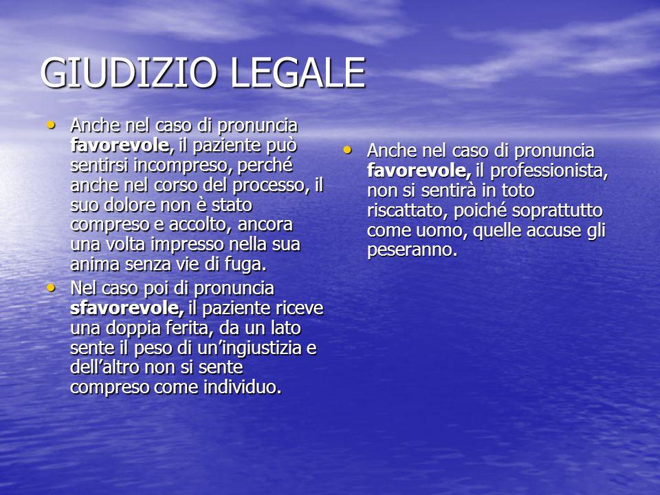GIUDIZIO LEGALE