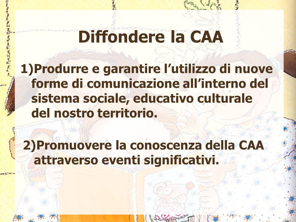Diffondere la CAA