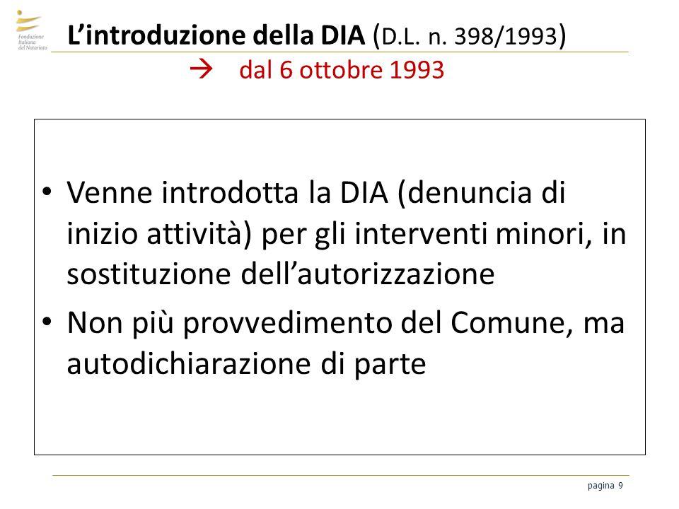 L'introduzione della DIA (D.L. n. 398/1993)  dal 6 ottobre 1993