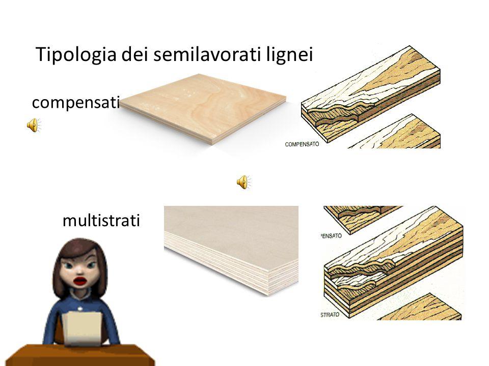 Tipologia dei semilavorati lignei