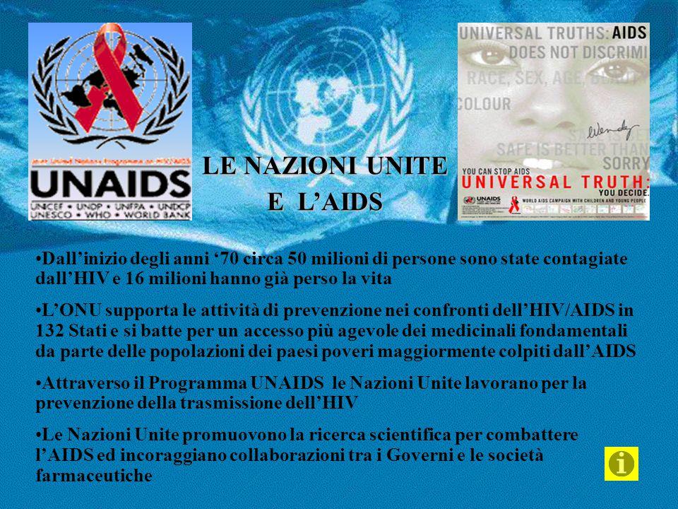 LE NAZIONI UNITE E L'AIDS