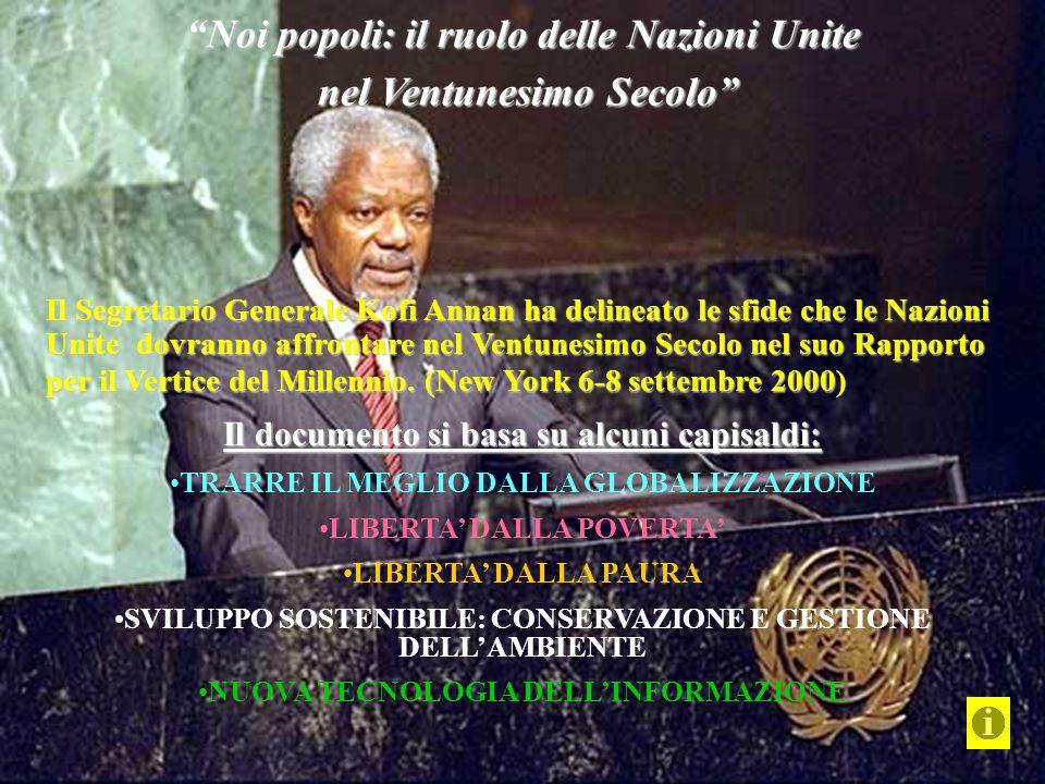 Noi popoli: il ruolo delle Nazioni Unite nel Ventunesimo Secolo