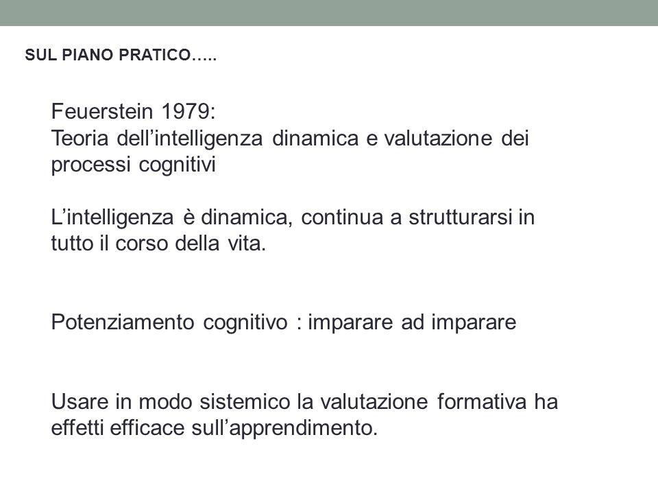 Teoria dell'intelligenza dinamica e valutazione dei processi cognitivi