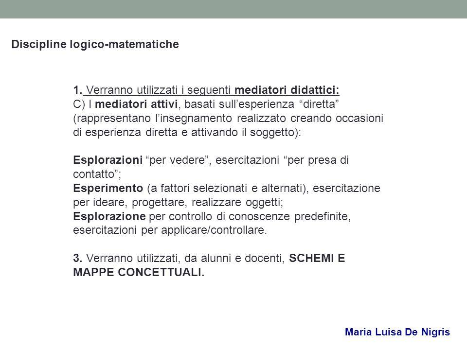 Discipline logico-matematiche
