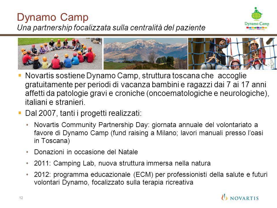 Dynamo Camp Una partnership focalizzata sulla centralità del paziente