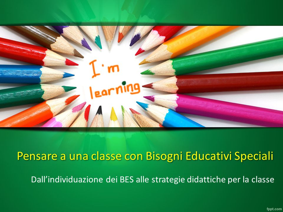 Pensare a una classe con Bisogni Educativi Speciali