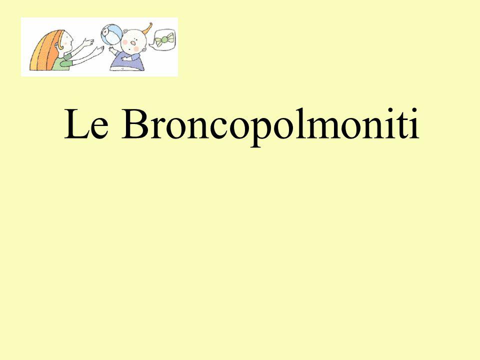 Le Broncopolmoniti