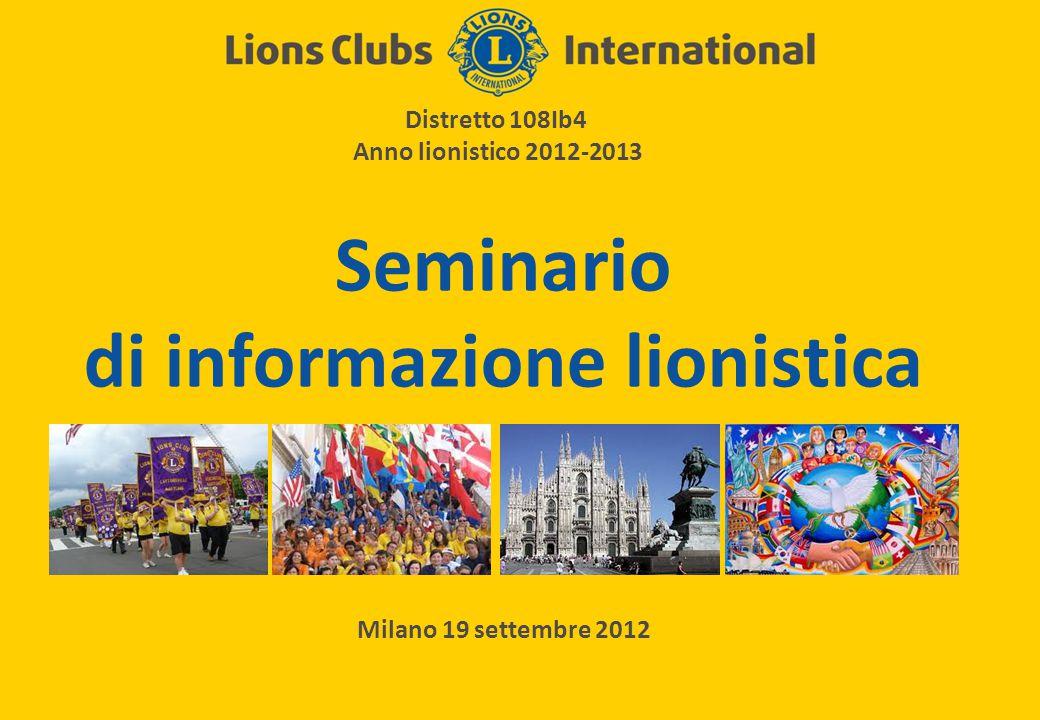 Seminario di informazione lionistica