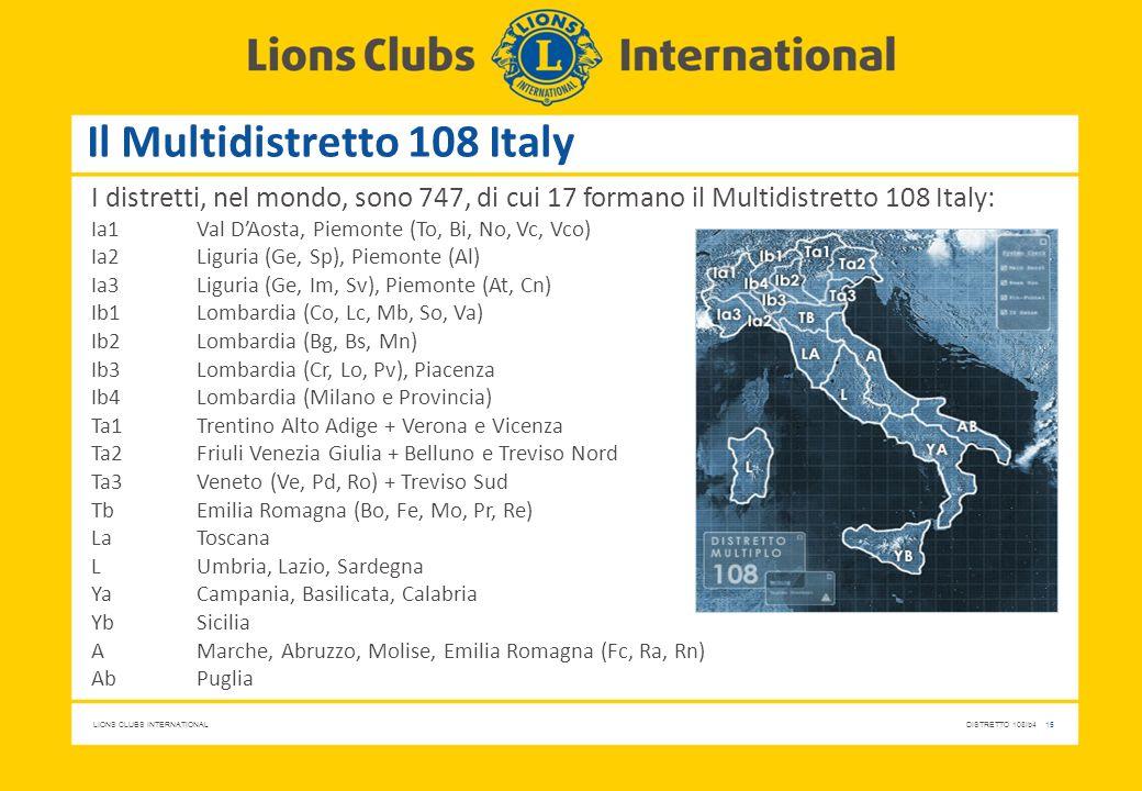 Il Multidistretto 108 Italy