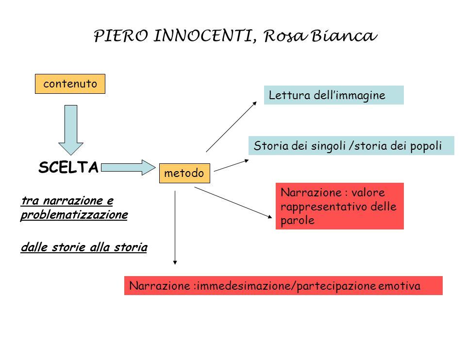 PIERO INNOCENTI, Rosa Bianca
