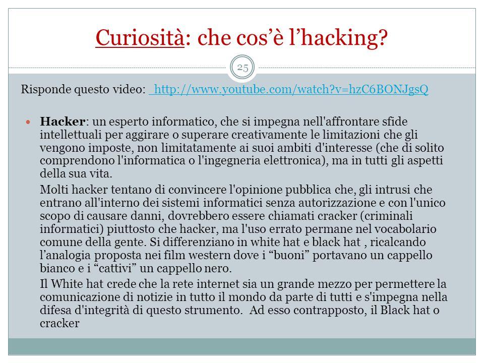 Curiosità: che cos'è l'hacking
