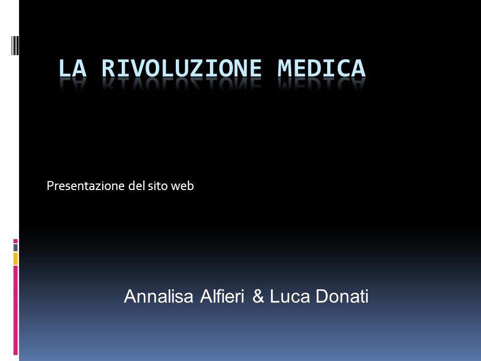 Presentazione del sito web
